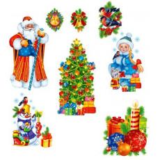 Набор для Новогоднего украшения/декора «Новий Рік» Sp-Km-117