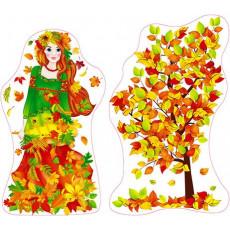 Набор украшения/декора «Дівчина осінь» Sp-Km-145