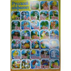 "Плакат ""Русский алфавит"" EV-TB-08"