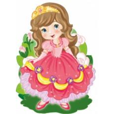"""Плакат """"Принцесса"""" UA-PL-0055"""