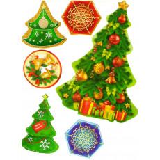 Набор для Новогоднего украшения/декора «Новогодний» Ed-nb-03