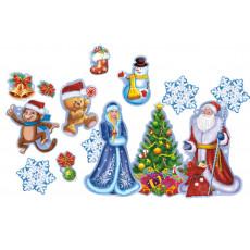 Новогодний набор для украшения/декора «Зимняя сказка» UA-NB-0079-261