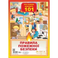 """Набор для украшений """"Пожежна безпека"""" UA-ne-0132y"""