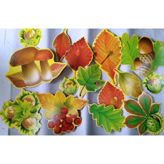 """Набор """"Осенние листья"""" UA-ne-0018"""
