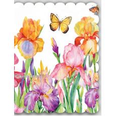 Набор 10 шт двойных открыток для букетов (букетница) Ed-07-00-123