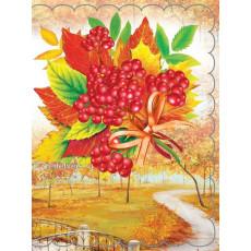 Набор 10 шт двойных открыток для букетов (букетница) Ed-07-00-124