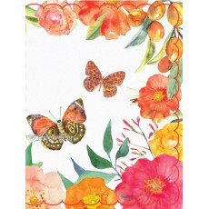 Набор 10 шт двойных открыток для букетов (букетница) Ed-07-00-127