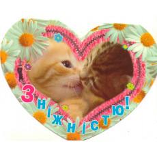 Открытка «З ніжністю!» 14-Ed-08-03-27y