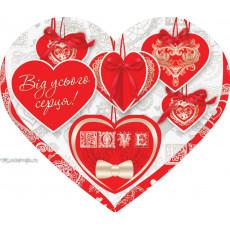 Открытка «Love» 14-Ed-27-00-245y