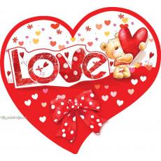 Открытка «Love» 14-Ed-27-00-248y
