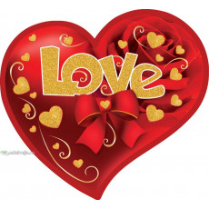 Открытка «Love» 14-Ed-27-00-249y