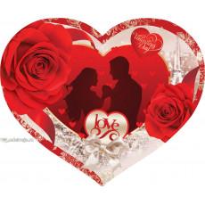 Открытка «Love» 14-Ed-27-00-250y