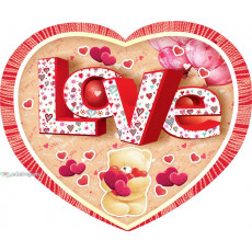 Открытка «Love» 14-Ed-27-00-254y