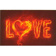 Открытка «LOVE» 14-Ed-08-05-1372y
