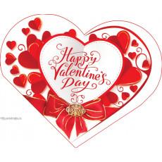 Открытка «Happy Valentines Day!» 14-Ed-26-05-70y