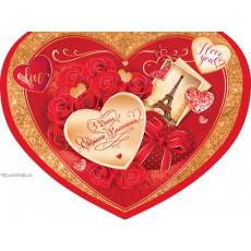 Открытка «З Днем Св. Валентина!»  14-Ed-14-03-209y