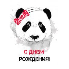"""Открытка """"С Днем Рождения!"""" Et-LK-070"""