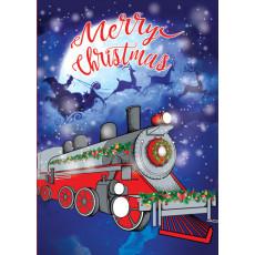 """Открытка """"Merry Christmas!"""" 31-Et-LK-161Y"""