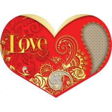 Валентинки «Love!» НАБОР 10 шт 14-Et-mt-917y