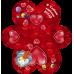 Валентинки «Давай дружити!» НАБОР 10 шт 14-Et-mt-934y