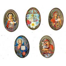 Мини открытка пасхальная НАБОР 10 шт RS-mx-3