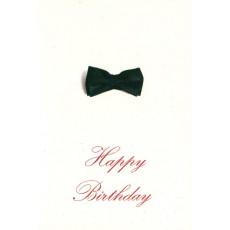 "Открытка двойная с крафт конвертом""Happy Birthday!"" SR-C6-05"