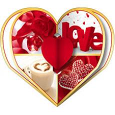 Валентинки «LOVE!» НАБОР 10 шт 14-Sp-23.057y