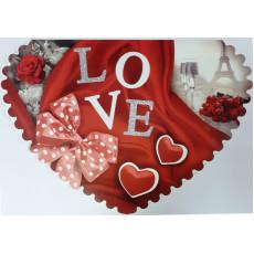 Открытка «LOVE!» 14-SV-sg-5414