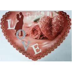 Открытка «LOVE!» 14-SV-sg-5415
