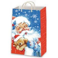 Подарочный пакет новогодний Ed-P1-140