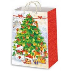 Подарочный пакет новогодний Ed-P1-142