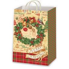 Подарочный пакет новогодний Ed-P1-144