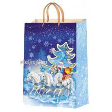 Подарочный пакет новогодний Ed-P1-153