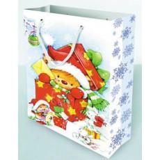 Подарочный пакет новогодний Ed-P1-163