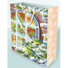 Подарочный пакет новогодний Ed-P1-165