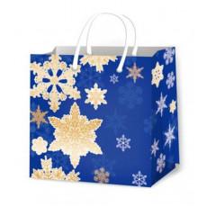 Подарочный пакет новогодний (квадрат малый) ED-P3-116
