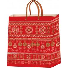 Подарочный пакет новогодний (средний) ED-P5-006