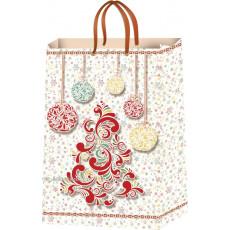 Подарочный пакет новогодний (средний) ED-P5-008