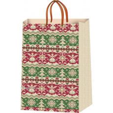 Подарочный пакет новогодний (средний) ED-P5-009