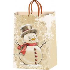 Подарочный пакет новогодний (средний) ED-P5-010