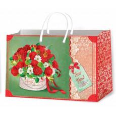 Подарочный пакет женский (горизонтальный) Ed-P8-014