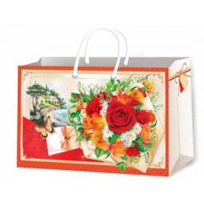 Подарочный пакет женский (горизонтальный) Ed-P8-018