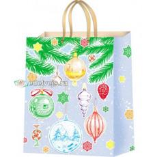 Подарочный пакет новогодний (супер гигант) ED-PPA-010