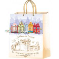 Подарочный пакет новогодний (супер гигант) ED-PPA-011