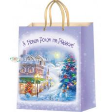 Подарочный пакет новогодний (супер гигант) ED-PPA-012