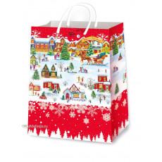 Подарочный пакет новогодний (супер гигант) ED-P7-016