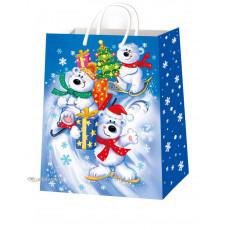 Подарочный пакет новогодний (супер гигант) ED-P7-019