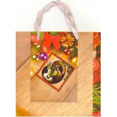 Подарочный пакет новогодний 31-GR-607