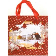 Подарочный пакет новогодний 31-GR-610