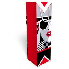 Подарочный пакет бутылка женский SP-38.028